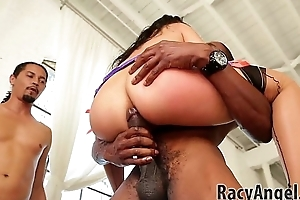 Cindy Starfall prearrange snatch face regions off out of one's mind John Strong, Mick Blue, Dsnoop