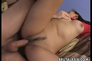 Nuisance fucked busty Oriental babe gets fucked hard