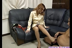 Busty Yuuko enjoys cock on webcam