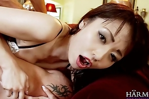 HARMONY VISION Oriental babe Marica Hase in Anal DP