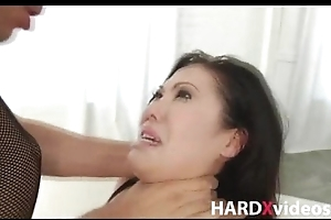 Stunning asian knockout DP hardcore