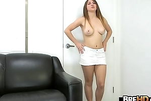 Tight camel toe pussy be advisable for an clumsy give fat bosom 2.2