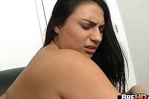 Lalin girl stunner Rikki Nyx first porn ever 2.8