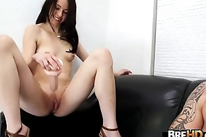 Amateur unassuming girl Veronica Radke receives rolling in money really hard.3
