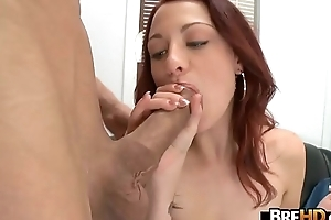 Red-Head Jessica Rabbit Gets Fucked Hard connected with her first porno 1.7