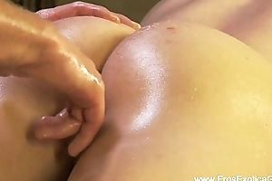 Dispirited Anal Massage From India