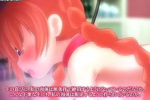 Hot horny redhead manga infant receives the brush