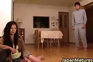 Chisa Kirishima Asian MILF gives stunning