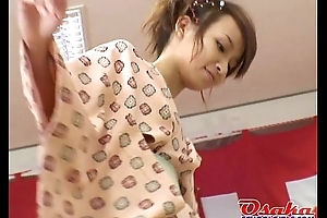 Cute Japanese teens at a rub down school goes wild an foreigner http://alljapanese.net