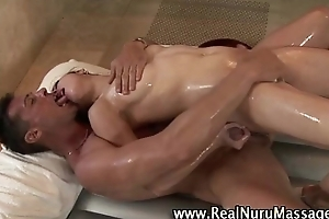 Sexy asian fetish babe receives a ejaculation
