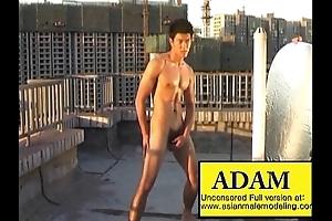 Oriental Male Model Adam