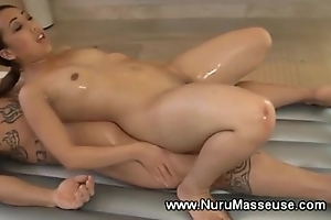 Slutty asian masseuse loves her clients immutable dig up
