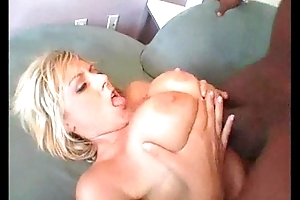 Huge Black Cock Stretches Namby-pamby Booty