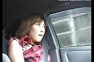 Asian Public Car/Bathroom Blowjob satiated