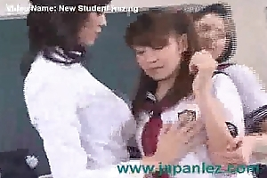 A New Student Gets Hazed At the end of one's tether Cram and Other Student
