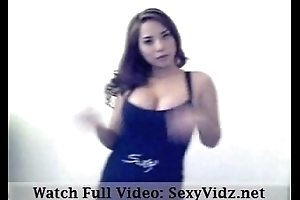 Incomparable Busty Asian Striptease Dance