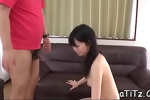 Asian chick with glamorous gut toys say no to wanton cunt