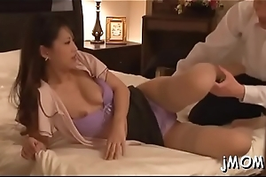 Stunning oriental of age gets her cunt drilled vigorously
