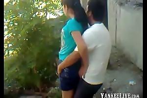 Uzbek young couple open-air - Khwarezm