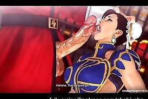 STREET Thug / CHUN-LI (TRAINING OUTFIT) FUCKED BY M.BISON [SFM]