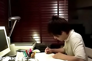 Japanese teen imitation fuck off out of one's mind neighbor