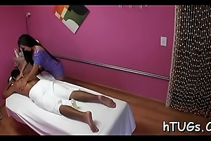 Cute asian toddler gives the best massages back the universe