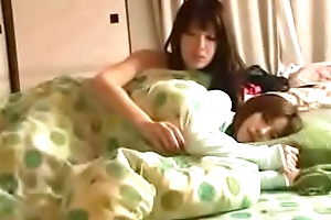 Japanese fairy sleeping