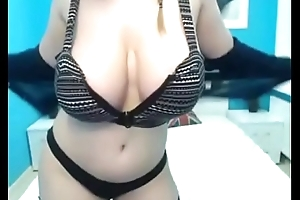 Hottest mollycoddle live showing amazing tits on cam