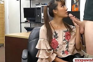 Asian descendant sells her samurai and pounded