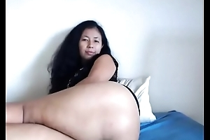 Oriental milf showing meticulous pest