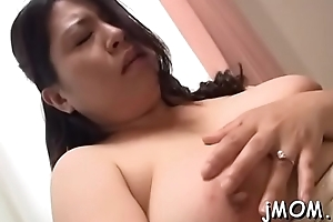 Bushy woman fingered and riding