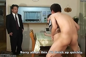 Japanese Cuckold Shared Wife Screwed non-native Doggystyle