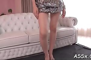 Attractive japanese Threesome intercourse