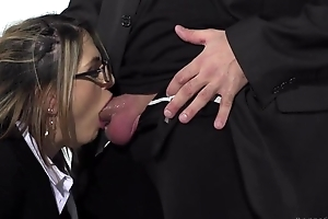 Small tit French chick and say no to sexy British collaborate get roughly fucked
