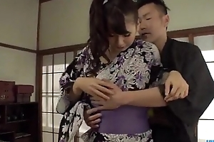 Yui Oba superb porn try one's luck caught at bottom cam