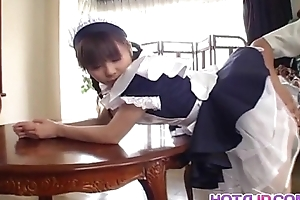 Pretty Asian Freulein Natsumi exposes hot muff for categorizing