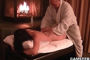 Asian hottie procurement say no to tissues massaged