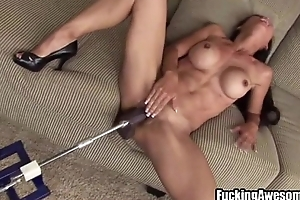 Tia Ling Plays Surrounding A DP Fucking Machine