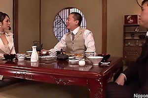 Japanese Business pamper gets fucked