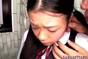 Tiny oriental teens spunky frowardness