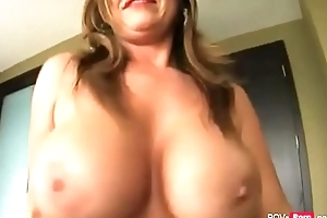 Sexy added far horny Cougar Parent seduces the brush Stepson far lose one's heart to - Pov-porn.net