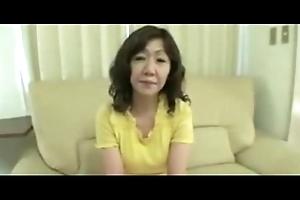 Japanese Chubby Big clitoris Mature Eriko Nishimura 51years
